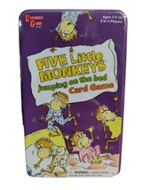 Five Little Monkeys Jumping On The Bed Card Game  University GamesBrand New Fun - $18.69