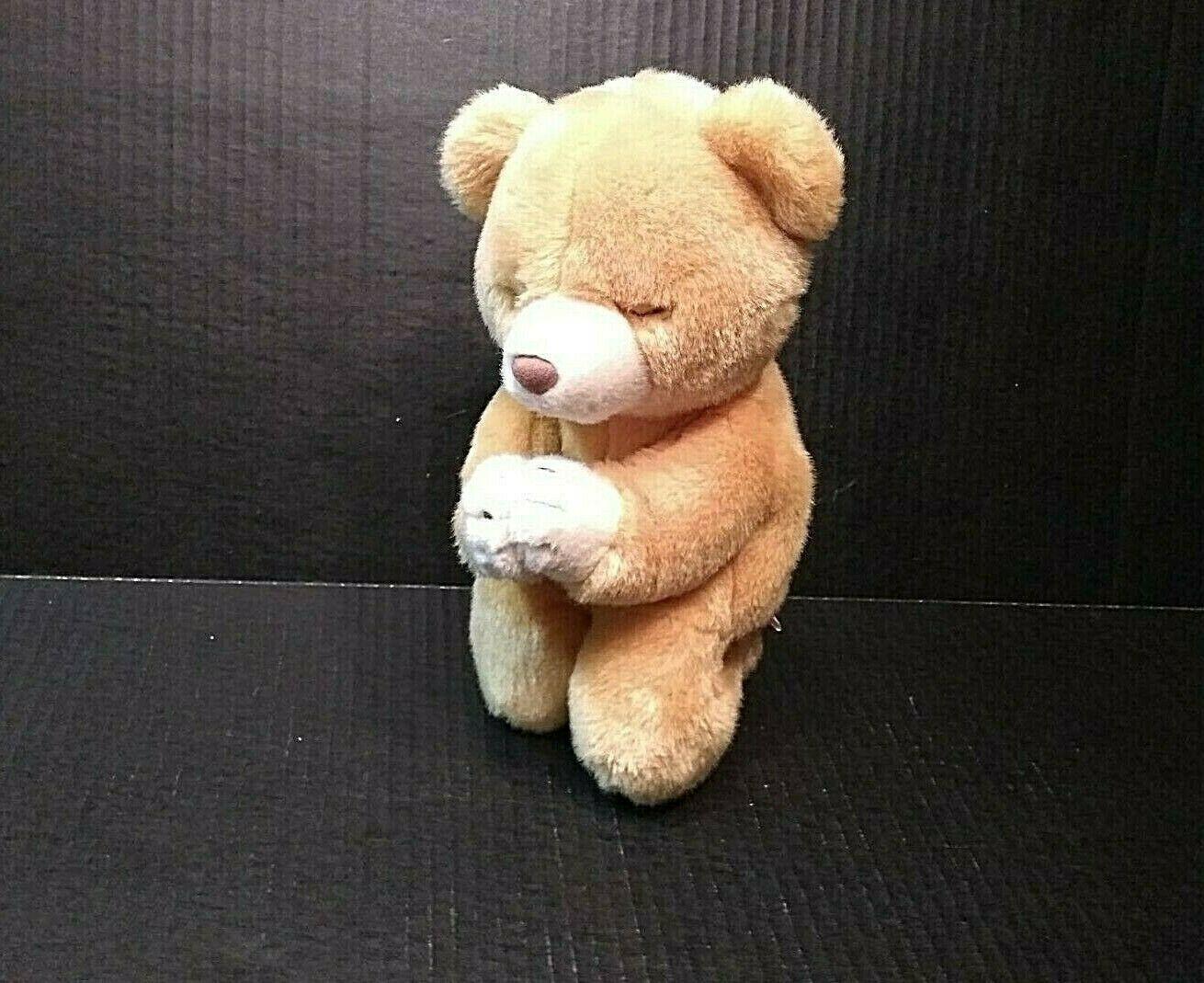 TY Beanie Buddies Plush Praying Bear Hope Vintage Stuffed Animal 1999