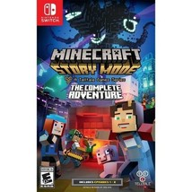 Minecraft Story Mode The Complete Adventure Nintendo Switch Video Game NEW - $59.99