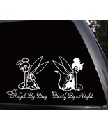 Tinkerbell Angel Devil Disney Fairy Car Window Truck Vinyl Decal Sticker  - $9.99