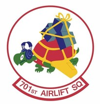 US Air Force 701st Airlift Squadron Sticker - $9.89