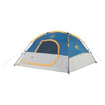 Coleman Instant 7x7 Foot Dome 3 Tent Grey/Blue - $121.13