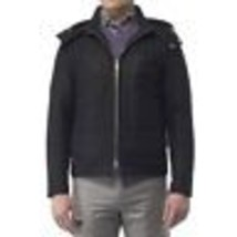 Peter Millar Collection Men's Grey Wool Ladin Paneled Hood Blouson Jacke... - $135.99