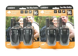 Uniden SX-167-2C Weather Radio Two Way Radios 16 Mile Gmrs/frs Walkie Ta... - $65.33