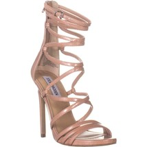 Steve Madden Strappy Heeled Sandals, Dark Blush Patent - $29.99