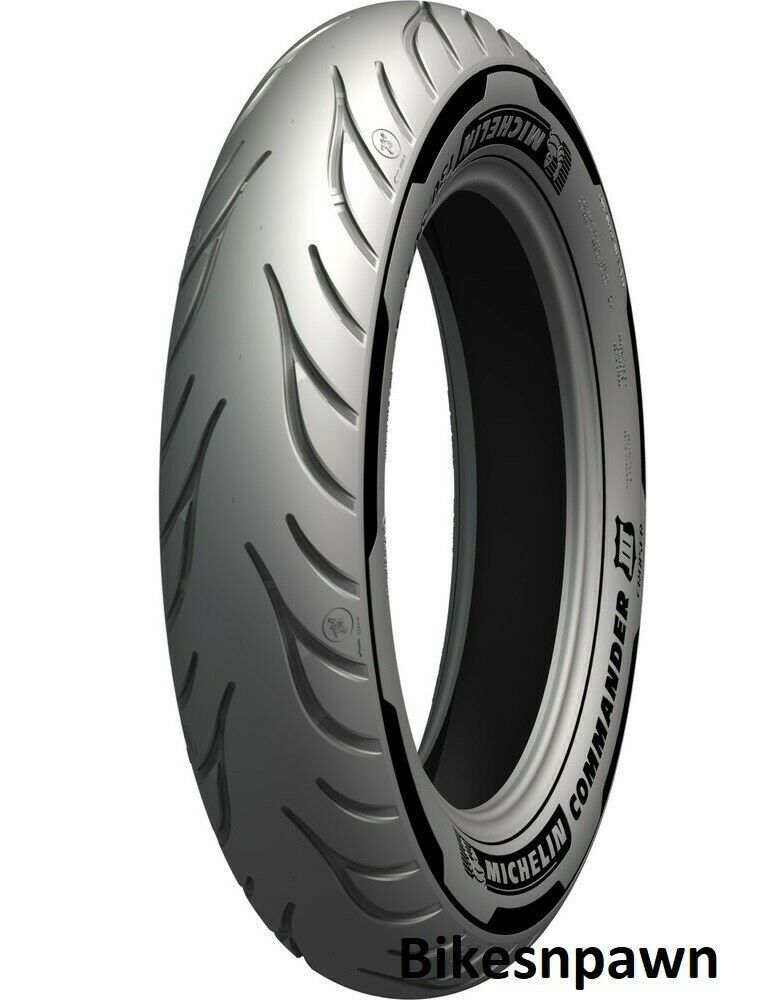 Michelin Commander III Cruiser 100/90-19 Front Motorcycle Tire 2X Life 57H