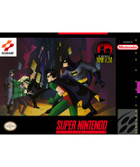 The Adventures of Batman & Robin - (Super Nintendo, SNES) - Repro Cart w/ Mini B - $39.99