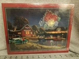 American Spirit George Kovach Bits And Pieces 750 Piece Jigsaw Puzzle Se... - $17.58