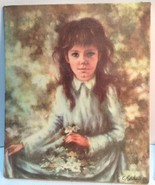 small vintage C Mitchell oil painting reproduction by Bernard picture Co - $18.81
