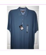 Kirkland Signature 100% Pima Cotton Polo, Dusty Blue, Lg - $29.70