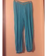 Womens Princess Jasmine costume pants sz Med drh157 - $10.80