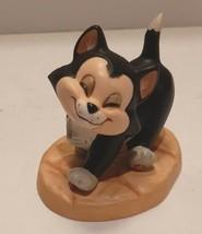 "1996 Walt Disney Classic Collection Pinocchio  ""Say Hello to Figaro"" Cat... - $39.55"