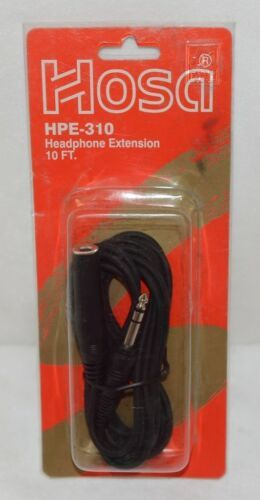 Hosa Technology HPE310 Headphone Extension 10 Foot Cable