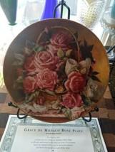 Franklin Mint ~PRINCESS GRACE FOUNDATION ~ Princesse De Monaco Rose Plate - $12.82