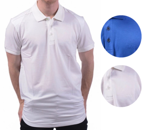 Hugo Boss Men's Slim Fit N-Parsox Stretch Sport Polo Shirt T-shirt 50297261