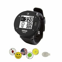 GolfBuddy VoiceX Watch Bundle with 1 Magnetic Hat Clip and 5 Ball Markers - $165.68 CAD