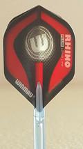 Winmau Rhino Plus Red W Standard Dart Flights - $1.50
