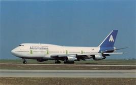 Aeromaritime Airlines Boeing B-747-3B3 F-Getb Msn 23480 Postkarte - $8.08