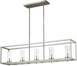 Sea Gull Lighting  Zire Five Island Pendant Hanging Modern Light Fixture - $373.99