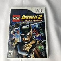 Wii Game Lego Batman 2 DC Super Heroes Complete With Manual - $7.84