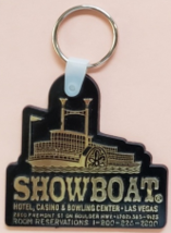 Showboat Hotel Casino Bowling Center / Las Vegas Officer's Club keychain - $9.95