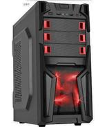 Custom Built Desktop Gaming PC 8GB RAM 1TB Computer System Quad Core CPU New PC  - $395.73