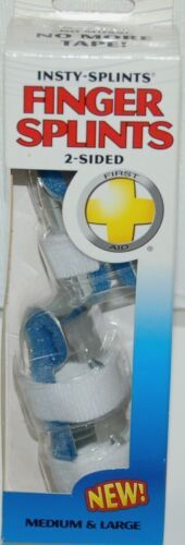 Flents 97451 Insty-Splints Finger Splints Size One Medium/One Large