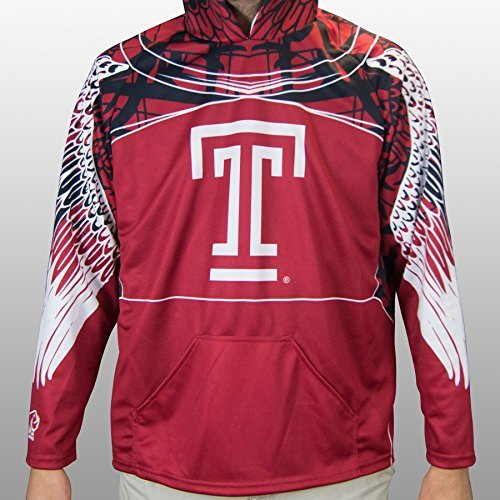 Rhino Temple Owls Rugby Hoody, Large