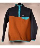 Patagonia Boys Lightweight Synchilla Snap-T Fleece Pullover M - $49.50