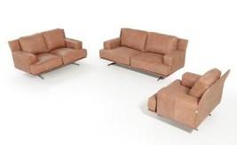 VIG Estro Salotti Foster Cognac Italian Full Leather Sofa Set 3 SPECIAL ... - €5.796,90 EUR
