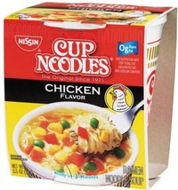 Nissin Cup Noodles Chicken Flavor 24-count - $16.11
