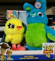 "Toy Story 4 Disney Pixar Ducky Bunny Scented Friendship 11"" Plush Gift B... - $14.84"