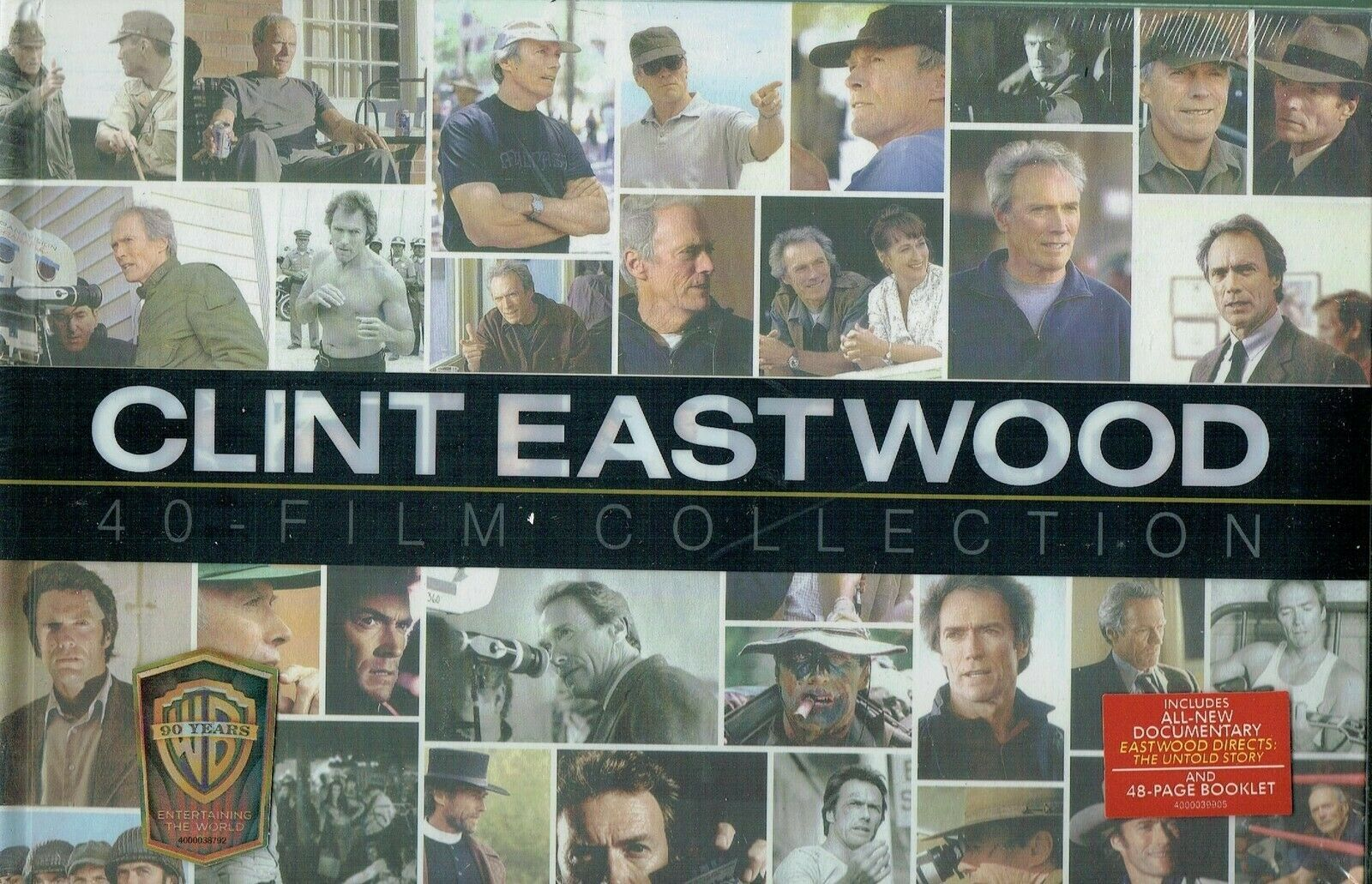 Clint Eastwood 40 Film DVD Collection 24-Discs Set Brand New Sealed