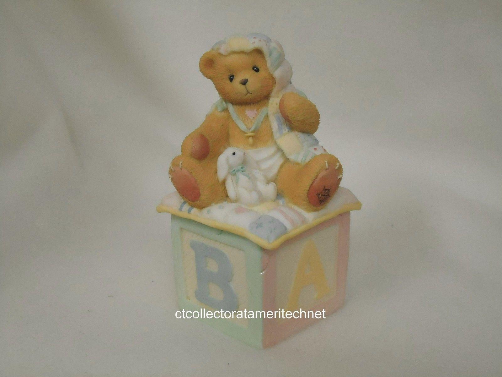 Cherished Teddies Covered Box Baby 1996  NIB - $22.72