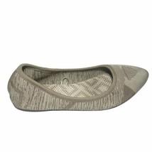 Skechers Womens Cream Cleo Wham Air Cooled Memory Foam Ballet Flats Size... - $22.68