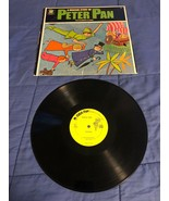 "Vintage Peter Pan Record Album ""Peter Pan"" Original 33 1/3 RPM Plastic - $8.01"