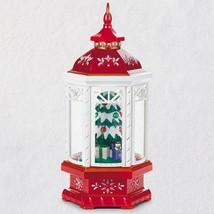 Christmas Lantern Table Decoration With Light, Sound  2018 Hallmark Orna... - $118.79
