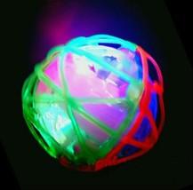 2 LED Jumping Fusion Ball Dancing Vibrating Flashing Blinking Toy - $11.87