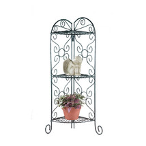 Corner Plant Stand, Corner Flower Metal Multiple Plant Stand Display Shelf - $33.28