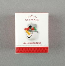 "Hallmark 2013 Keepsake Miniature Ornament ""Jolly Birdhouse"" Snowman and ... - $12.86"