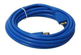 15Ft. (15 Feet) USB 3.0 Cable A (M) to Micro B (M) Cable with Gold Conne... - $10.99