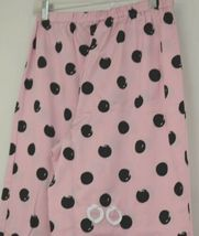 Morgan Taylor Intimates Pink Dot Pajama Set Adult Medium Grade B image 7