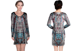 Tatoo Collection #2 Women's Long Sleeve Night Dress - $23.80+