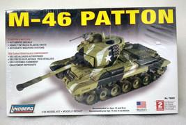 Lindberg M-46 PattonTank 1/35 Scale Model Kit #76002 NEW- SEALED - $26.99