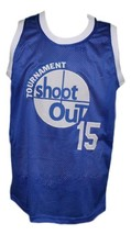 Thomas Shep Shepard Tournament Shoot Out Basketball Jersey New Blue Any Size image 1
