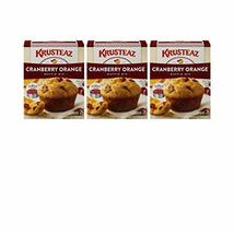 Krusteaz Cranberry Orange Muffin Mix, 18.6-Ounce Boxes 3 pack image 2