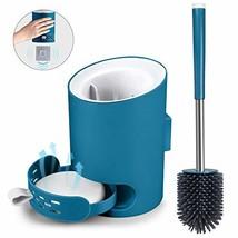 MANGOTIME Toilet Brush and Holder Set Toilet Bowl Brush for Bathroom Toilet Rim