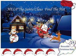 Pin The Hat On The Santa Claus Games - Kids Christmas/Xmas/Holiday/Birth... - $11.83