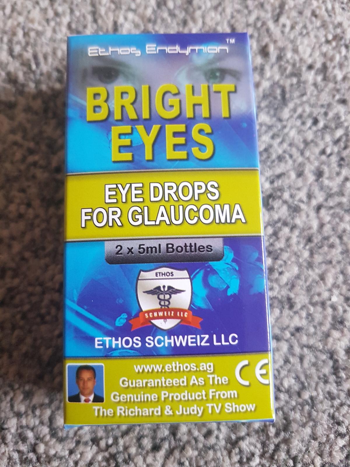 Ethos Bright Eyes NAC Eye Drops for Glaucoma 10ml 1 Box