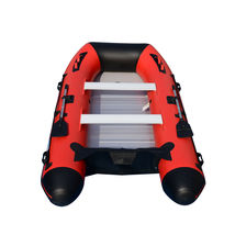 BRIS 12ft Inflatable Boat Dinghy Raft Pontoon Rescue & Dive Raft Fishing Boat image 3